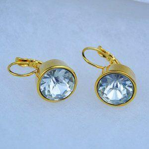 Kate Spade Zircon Classic White Earrings